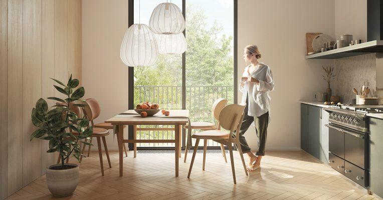 chọn sàn gỗ công nghiệp hay sàn gạch để lát sàn